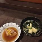 いちぼ - 若竹煮のお上品な事。 ぶり大根は味がシミシミ