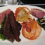中国料理 「望海楼」 - 前菜盛り合わせ