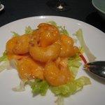 中国料理 「望海楼」 - 海老マヨネーズ