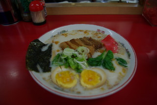 海皇 - 霧色ラーメン煮卵入り