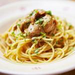 スパゲッティ 生ウニのバーリ風