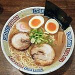 たかし - 【中華麺 元味 + 味玉】¥680 + ¥120