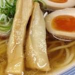 煮干鰮らーめん 圓 - 煮干しラーメン味玉トッピング