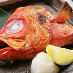 ウオサンジ - キンメダイのカマ塩焼き