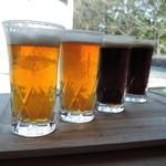 響 - 所沢ビール4種テイスティングセット(野老ゴールデン・スモーキン・ダークホース・ファラオ)