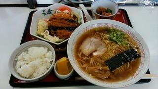 初音 支店 - 「そば屋のA定食」830円