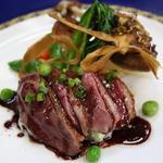 ル・プランタン - 青森産鴨の胸肉のロースト