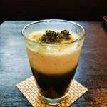 48222258 - ほんのり甘く、抹茶の風味満載の『抹茶ラテ』~♪(^o^)丿