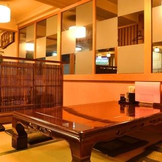 ◆ゆったり座って団らんを♪座敷席でゆったりお寿司をどうぞ♪