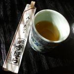 48223599 - お箸とお茶