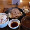 豚ステーキ 十一