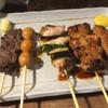 串焼 文福 - 料理写真:串焼き5本