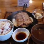 豚ステーキ 十一 - 料理写真: