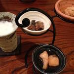 Oosugi - ビールとコースの前菜