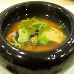 あま木 - 牡蠣の茶碗蒸し
