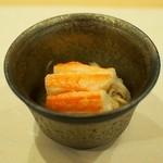 あま木 - 蟹の蒸し寿し