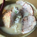 48237414 - 九州麦味噌 味噌漬け炙りチャーシュー麺 ¥1,020