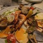 サカナバル グリル - 魚貝のグリル盛合わせ