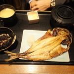旬彩庵 - 焼魚定食