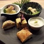 京おばんざい亀麟 - 前菜