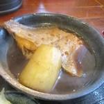 九絵 - 九絵定食(煮魚アップ)