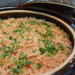 料理 吉祥寺 わるつ - 桜海老の炊き込みご飯