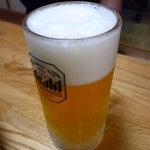 相撲茶屋 両國 - ☆シュワワァ~生ビールで乾杯です!(^^)!☆