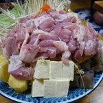 相撲茶屋 両國 - ☆夏季限定塩ちゃんこは鶏肉がメインです(*^。^*)☆