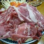 相撲茶屋 両國 - ☆大関味噌ちゃんこ…メインが豚さんです(≧▽≦)/~♡☆
