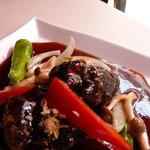中国料理酒家 中 - 本場中国の鎮江黒酢で作るソースと、じっくりと仕込みに丸一日かけて作った肉、まねのできない味。