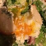 48240756 - 『ロメインレタスとかりかりベーコンのサラダ』
