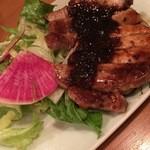 48241832 - 『豚肉のハニーマスタード焼き』