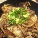48242647 - 和牛カルビ丼(680円