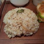 ルート カフェ - 玄米ご飯