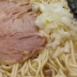 煮干しそば 暁 - チャーシューは抜群に美味しい 2016.2