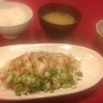 こころ - 鶏肉ポン酢定食