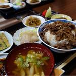 焼肉 談 - カルビ丼ランチ¥1,000-