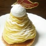パティスリーデュボンタン - 川越芋のモンブラン