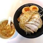 JUNK - 料理写真:JUNKつけ麺+味玉