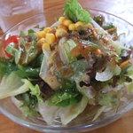 木のいえ - Bランチ の サラダ