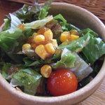 木のいえ - パスタランチ の サラダ(+100円)