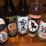 銭屋 - 焼酎バンザイ(*^。^*) ボトルキープ¥1980~ ショット¥280~
