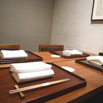 神楽坂 石かわ - 個室