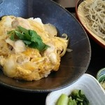 48252996 - 千葉県産ハーブ鶏のミニ親子丼セット