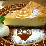 2-3Cafe - チーズケーキ