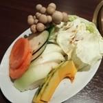 能登牛焼肉 味道苑 - 季節の焼き野菜