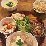 カッフェ トムテ - 大豆ミードボール(土曜ランチ)