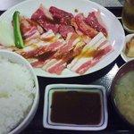 4826509 - 和牛焼肉定食(牛カルビ・豚カルビ)