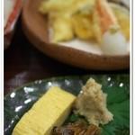 菘 - 玉子焼きとアサリとオカラ