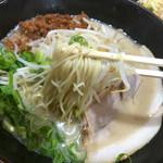 虎龍馬 - ピリ辛セキライラーメン 麺リフト〜(*^◯^*)❤️